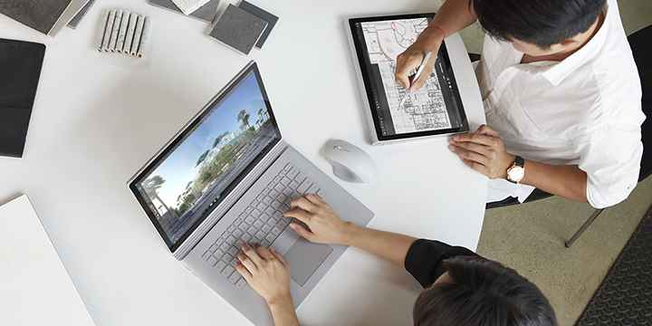 Shift to a modern desktop with Microsoft Surface