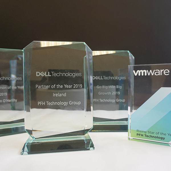Numerous Industry Accolades awarded to PFH including Dell Partner of the Year