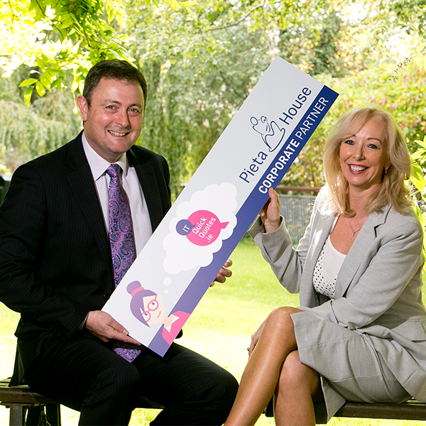 ITQuickQuotes.ie announces corporate partnership with Pieta House