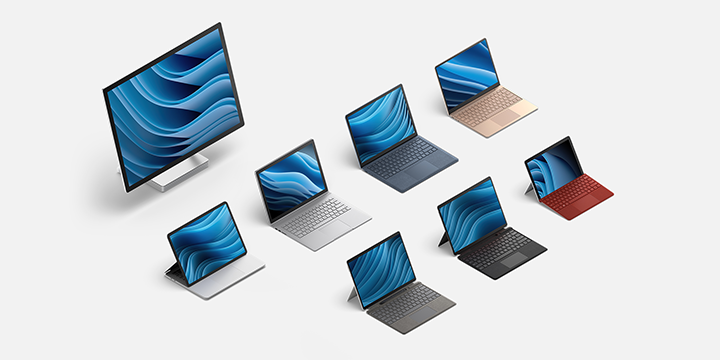 Introducing new Surface products, built for Windows 11